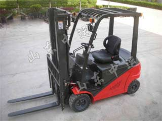 Electric Narrow Aisle Electric Forklift Stacker , Electric