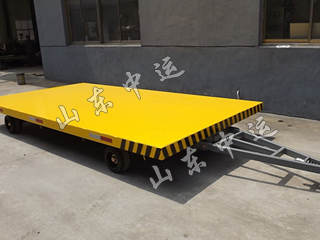 4T Low Flatbed Baggage Trailer