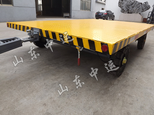 3T Flatbed Trailer With Rear Light