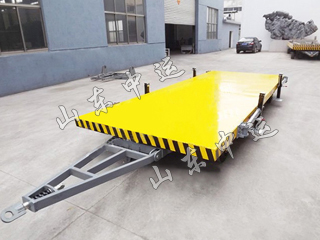 3T Flatbed Trailer With Bracket