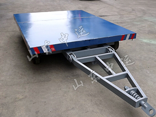 Flatbed Trailer 2T Baggage Trailer Airport Trailer