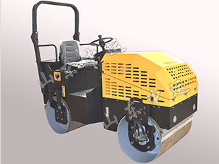 2 Ton Ride-on Hydraulic Road Roller