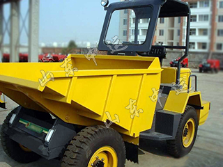 Small Front Tipping Site Dumper