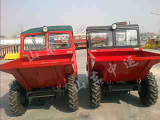 Mini Site Front Dumper Motor Power Tipping Dumper