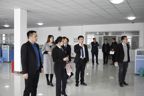 Warmly Welcome Leadership Of Shandong Tianyi Machinery Company Visited China Transport Group For Cooperation