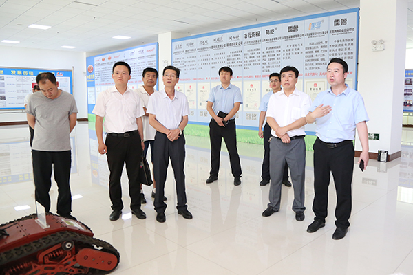Warmly Welcome The Leaders Of Jining Technician College To Visit China Transport Group For Cooperation