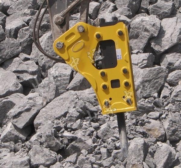 Excavator Rock Breaker Hammer , Excavator Rock Breaker