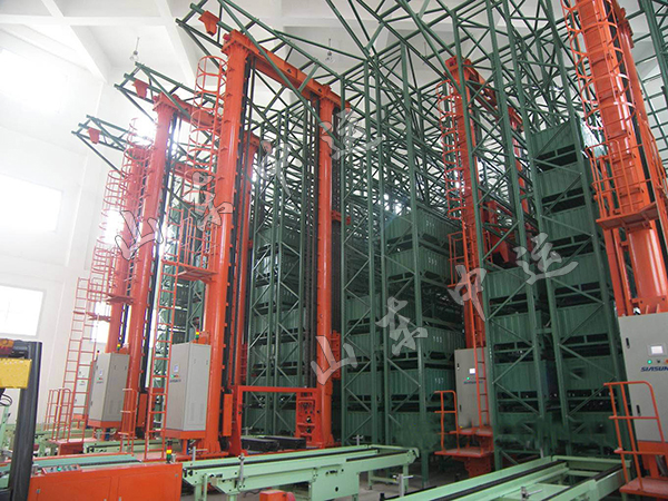 Automatic Storage and Retrieval Pallet Racking System