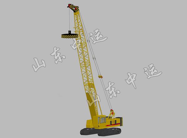 Telescopic Crane 200 Ton : Ton telescopic crawler crane